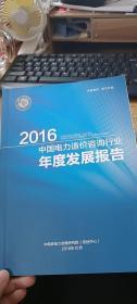 2016中国电力造价咨询行业年度发展报告