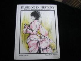 FASHION IN HISTORY【英文版,见图】