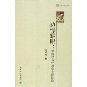 【正版】边缘耀眼:中国现当代通俗小说讲论汤哲声9787301217498