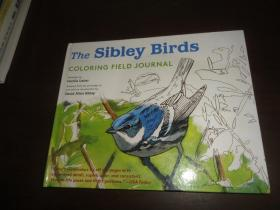 The Sibley Birds Coloring Field Journal 精装