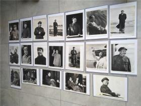 文革大幅毛主席照片19张合售,首都中国照相馆印制,包保价快递