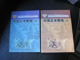 中国武术教程 上下册