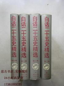 白话二十五史精选 (四册全)
