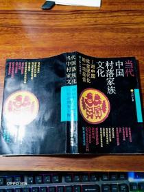 当代中国村落家族文化