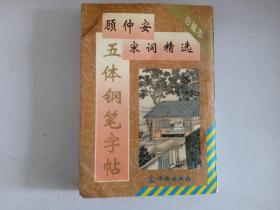 顾仲安五体钢笔字帖宋词精选