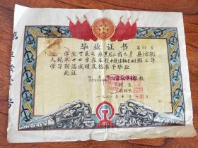 1961年毕业证书