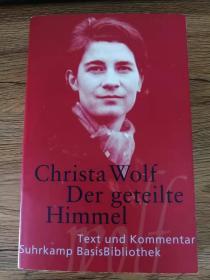《分裂的天空》Der geteilte Himmel,Christa Wolf