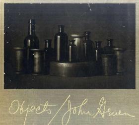 John Gruen写真集 Objects 1981年 Knopf 函套