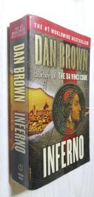 【英文原版】Inferno(Export Edition)丹·布朗:地狱