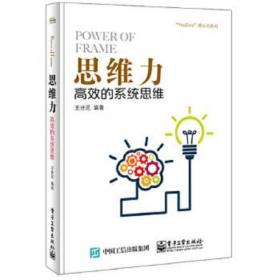 思维力:高效的系统思维 王世民 9787121301971 电子工业出版社 正版图书