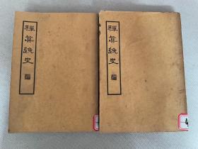 民国原刊禁毁小说《禅真逸史》32开平装上下两册全。民国二十五年(1936)上海杂志公司初版,品佳