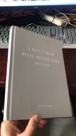 I HAVE A DREAM MUSIC RECORD BOOK WESTLIFE