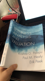 Business Analysis and Valuation: IFRS edition