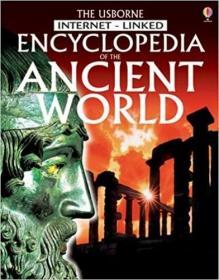 英文原版书 The Usborne Internet-linked Encyclopedia of the Ancient World Paperback 2005 by Jane Bingham