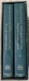 福尔摩斯探案全集 第二版   详注本   海量注释  海量插图     帆布面精装   书脊烫金  超大开本 带套盒