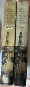布朗宁夫妇情书集 全2册    漆布面精装  插图本  哈佛大学出版  书后附有书信中出现的所有人物的简介,是一部非常有益的19世纪英国文学史的补充读物。