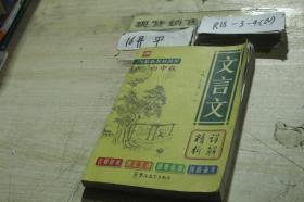 文言文详解精析 初中版
