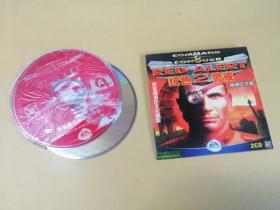 游戏光盘 :红色警戒2  光盘2张  (看好再拍,售出不退不换)
