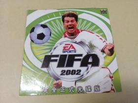 游戏光盘: FIFA2002 足球游戏 (看好再拍,售出不退不换)