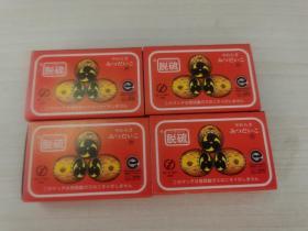 日本火花火柴盒 (脱硫) 空盒,4盒合售 尺寸:  5.7 × 3.5 × 1.6 cm
