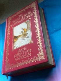 The Complete Fairy Tales and Stories by Hans Christian Andersen 安徒生童话全集 英文版 精装本 (大32开本,书口金色,书脊有竹节)