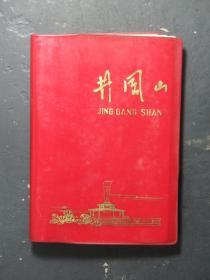 井冈山笔记本 红色塑皮本 张天东记账本 1973年(55543)