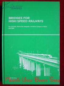 Bridges for High-Speed Railways(英语原版 精装本)高速铁路桥梁