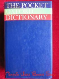 The Pocket Oxford Dictionary of Current English(Fifth Edition)牛津当代英语袖珍词典(第5版 英语原版 精装本)