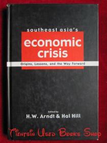 Southeast Asia's Economic Crisis: Origins, Lessons, and the Way Forward(英语原版 精装本)东南亚经济危机:起源、教训和未来之路
