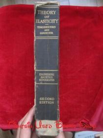 【著名桥梁专家、同济大学教授张士铎先生藏书】Theory of Elasticity(Second Edition)弹性理论(第2版 英语原版 精装本)