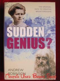 Sudden Genius: The Gradual Path to Creative Breakthroughs(英语原版 精装本)灵光闪现:天才是如何炼成的