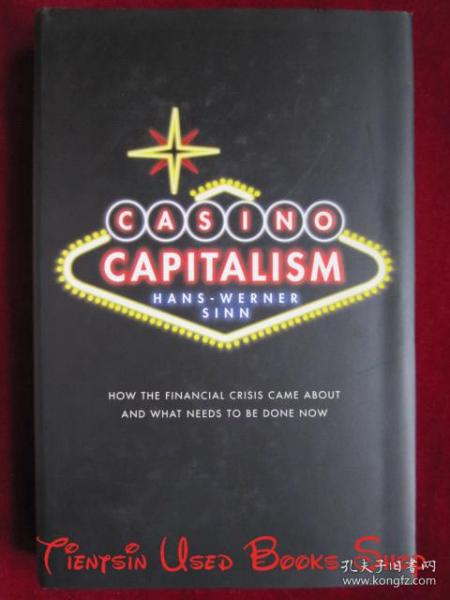 Casino Capitalism: How the Financial Crisis Came About and What Needs to be Done Now(英语原版 精装本)赌场资本主义:金融危机是如何发生的以及现在需要做什么