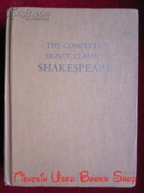 The Complete Signet Classic Shakespeare(英语原版 精装本)经典莎士比亚全集