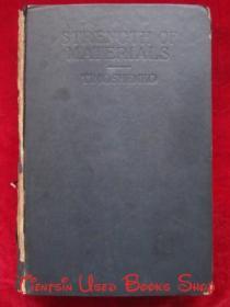 【著名桥梁专家、同济大学教授张士铎先生藏书】Strength of Materials, Part 2: Advanced Theory and Problems(Second Edition)材料力学,第2部分:高级理论与问题(第2版 英语原版 精装本)