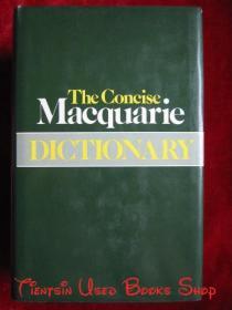 The Concise Macquarie Dictionary(英语原版 精装本)简明麦夸里词典