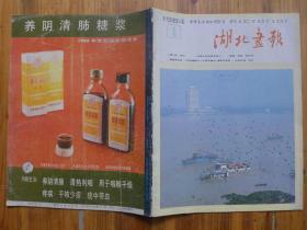 湖北画报1984年第5期·骆文、徐迟在睛川饭店,国庆35年美术、摄影展作品选登