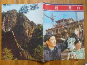 《朝鲜》画报1980年8期·金日成访问罗马尼亚,南斯拉夫,【赠品:六二六反美斗争日】金刚山景点4