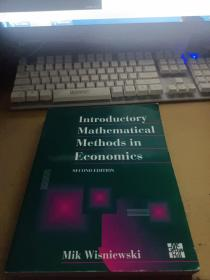Introductory Mathematical Methods in Economice SECOND EDITION
