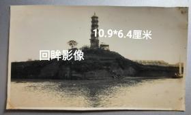 民国早期江西九江回龙塔老照片