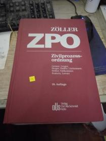 德文原版 ZPO Zivilprozessordnung 9783504470180