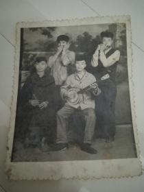 旧照片--1964年初夏合影