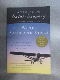 英文书  Wind, Sand and Stars《风沙星辰》平装