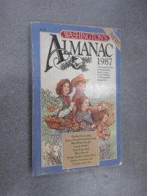 WASHINGTON'S  ALMANAC.1987  32开  240页