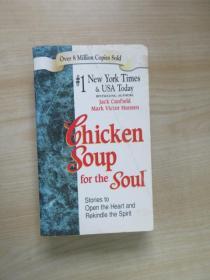 英文书  Chicken Soup for the Soul: Stories to Open the Heart and Rekindle the Spirit