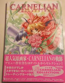 日版 CARNELIAN  カーネリアンコレクション―ゲームワークス 01年初版 附书腰 不议价不包邮