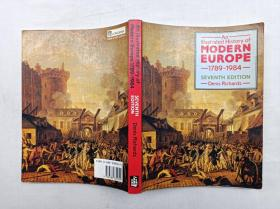 An Illustrated History of Modern Europe 1789-1984;Seventh Edition;16开
