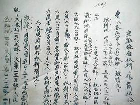 (1951年)(河北省大名县)《重点检查秋耕工作简结(四、五、六区材料)》