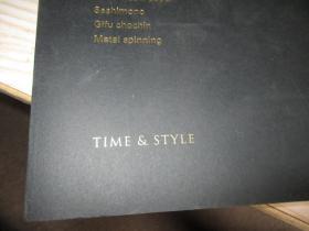 TIME & STYLE(英文、日文版)