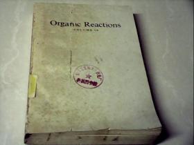 Organlc  Reactions  VOLUME 29 有机反应