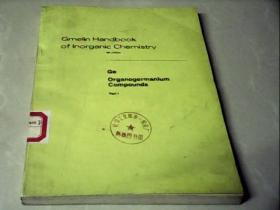 Gmelin  Handbook of  Inorganic  Chemistry 盖墨林无机化学手册(第8版)第45号 《有机 化合物》第1部分(英文)